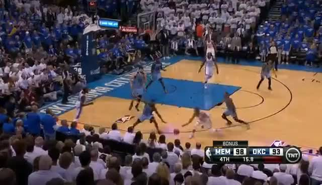 Watch Kevin Durant Awesome Three-Pointer!! GIF on Gfycat. Discover more Basketball, Kevin Durant, Mephis Grizzlies., NBA, Oklahoma City Thunder GIFs on Gfycat