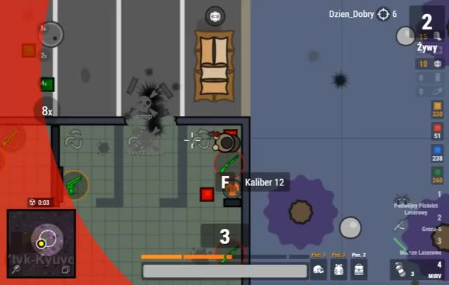 Watch and share Surviv.io Light Sabers - Force GIFs by Dzien_Dobry on Gfycat