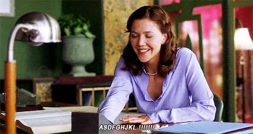 Watch SECRETARY, 2002 GIF on Gfycat. Discover more maggie gyllenhaal GIFs on Gfycat