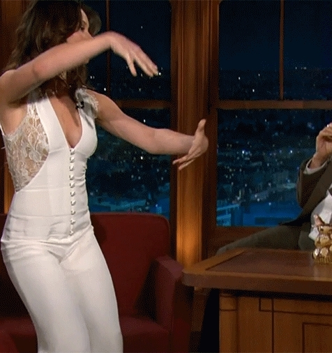 evangelinelilly, Evangeline Lilly on The Late Late Show (reddit) GIFs