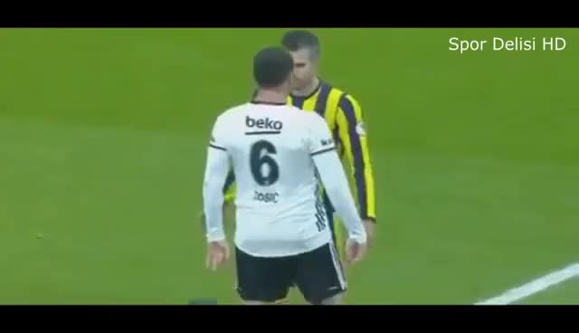 Watch Best Fight Football & Angry Moments 2017 ft. Tosic, Van Persie, Volkan, Zlatan, Pogba & More GIF on Gfycat. Discover more related GIFs on Gfycat