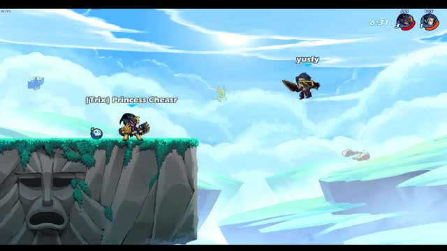 Watch Clipped GIF by Scarlet (@dregorspain) on Gfycat. Discover more Brawlhalla GIFs on Gfycat