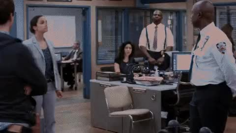 Watch and share Andy Samberg GIFs and Brooklyn GIFs by Scrapyard Films on Gfycat