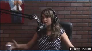 Watch and share Milana Vayntrub // Actress & Writer GIFs on Gfycat