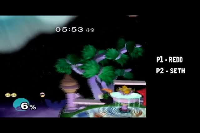 Watch Peach vs. Falcon - 4/28/17 - FoD GIF by Redd (@reddssbm) on Gfycat. Discover more related GIFs on Gfycat