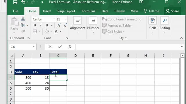 Watch and share Excel Formulas - Absolute Reference Gif 1 GIFs on Gfycat