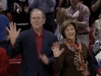Watch this george bush GIF on Gfycat. Discover more george bush, raise the roof GIFs on Gfycat