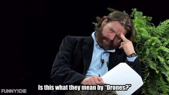 Barack Obama, Between Two Ferns with Zach Galifianakis, FoD, Obama, funny or die, funnyordie, drones GIFs