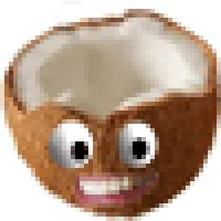Watch and share Animated Coconut GIF - Tropical Smiley GIFs on Gfycat