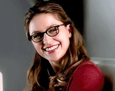 cute, cw, laughing, melissa benoist, smile, supergirl, upergirl, Melissa Benoist Smile GIFs