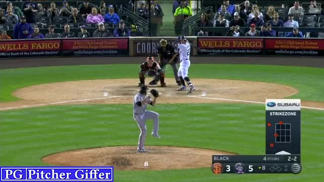 Watch and share Ray Black GIFs and Baseball GIFs by Pitcher Giffer on Gfycat