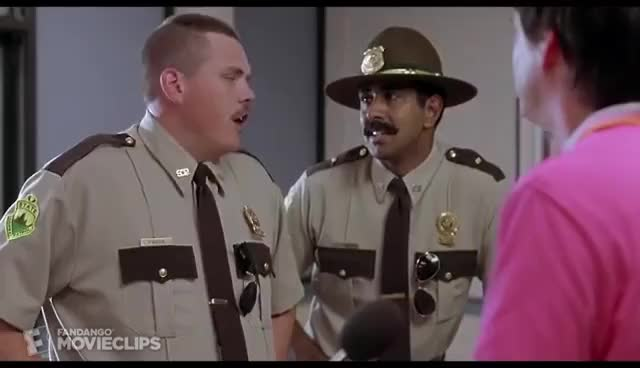 Watch and share Super Troopers (4/5) Movie CLIP - Dimpus Burger (2001) HD GIFs on Gfycat
