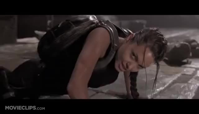 Watch and share Angelina Jolie GIFs and Tomb Raider GIFs on Gfycat