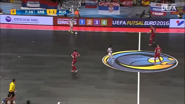 Watch Futsal EURO Highlights: Watch Russia beat hosts Serbia in extra time GIF by @andy11 on Gfycat. Discover more Goals, The_Latest, UEFA Futsal European Championship GIFs on Gfycat