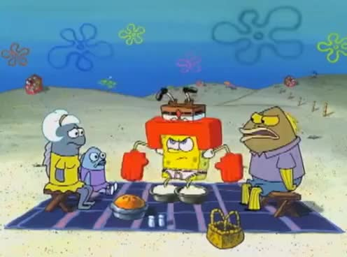 Watch and share Spongebob - 3 Days To Make That Potato Salad GIFs on Gfycat