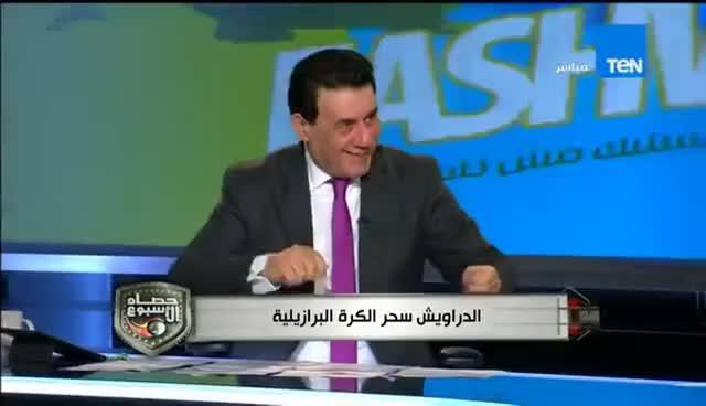 Watch and share ستاد TeN - لقطة الاسبوع|رقص ك/ مدحت شلبى و ك/ مجدى عبدالغنى على انغام الدراويش GIFs on Gfycat