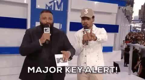 Dj Khaled, key, keys, major key, Major Key Alert - DJ Khaled GIFs