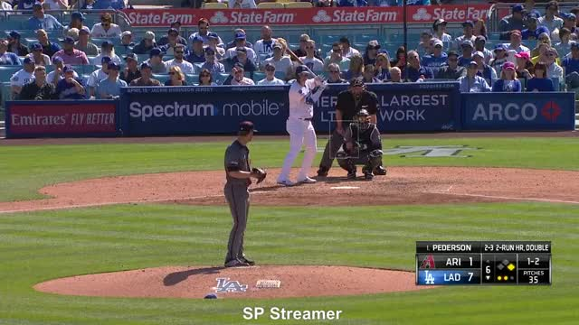 Watch and share Pederson HR GIFs by spstreamer on Gfycat