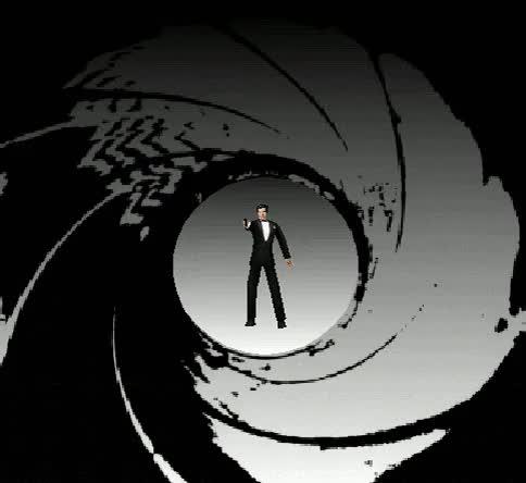 Watch GoldenEye 007, Nintendo 64. GIF on Gfycat. Discover more animated, gif, goldeneye, goldeneye 007, james bond, n64, nintendo 64, rare, vgjunk GIFs on Gfycat
