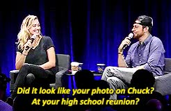 Watch and share Yvonne Strahovski GIFs and Nerd Hq 2015 GIFs on Gfycat