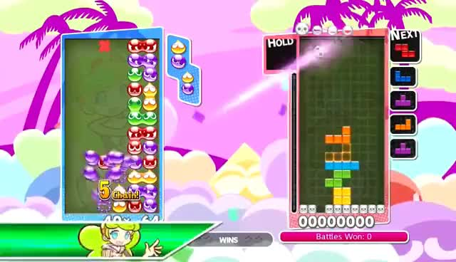 Watch Puyo Puyo Tetris English Dub - All Spells (Normal + Alternate Voice) GIF on Gfycat. Discover more related GIFs on Gfycat