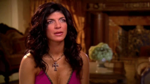 believe, bitch, can't, eye, eye roll, eyeroll, giudice, god, it, my, no, oh, omg, please, roll, seriously, teresa, way, Teresa Giudice eye roll GIFs