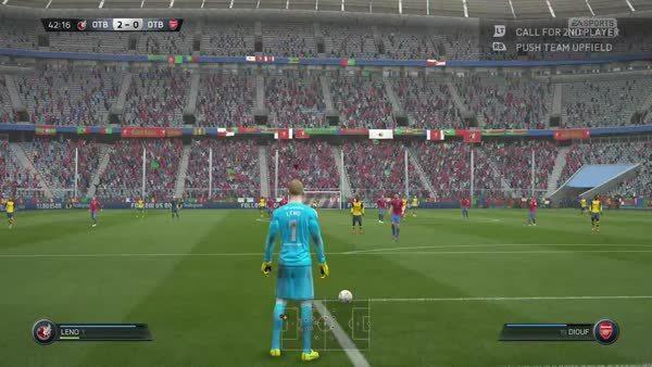fifa, Next Gen Goalkeepers in short GIFs