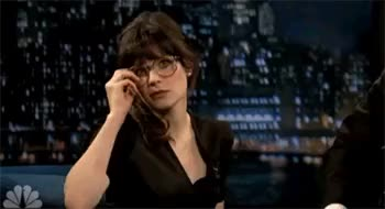 Watch and share Zooey Deschanel Sexy GIFs on Gfycat
