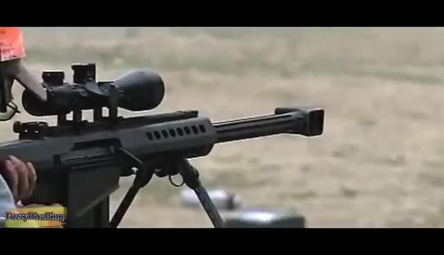 Watch and share Barrett M82 Shooting (.50 Cal) W/Slow Motion GIFs on Gfycat