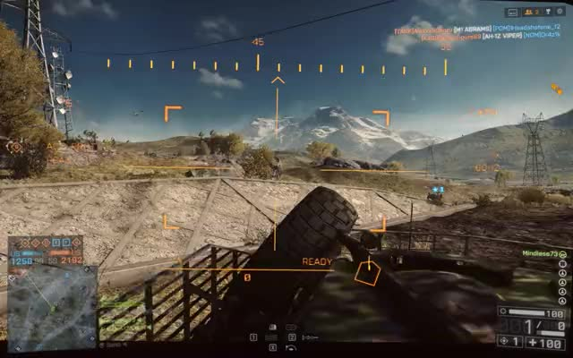 Watch and share Battlefield 4 LAV Tow GIFs by mindless73 on Gfycat