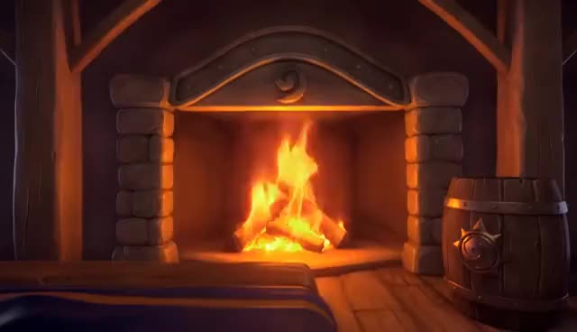 Watch and share Hearthstone Murloc Yule Log GIFs on Gfycat