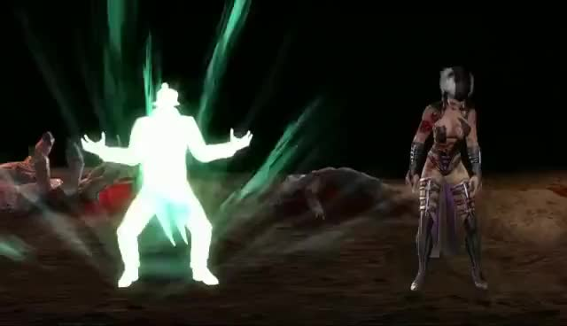 Watch and share MK9 Shang Tsung Fatality GIFs on Gfycat