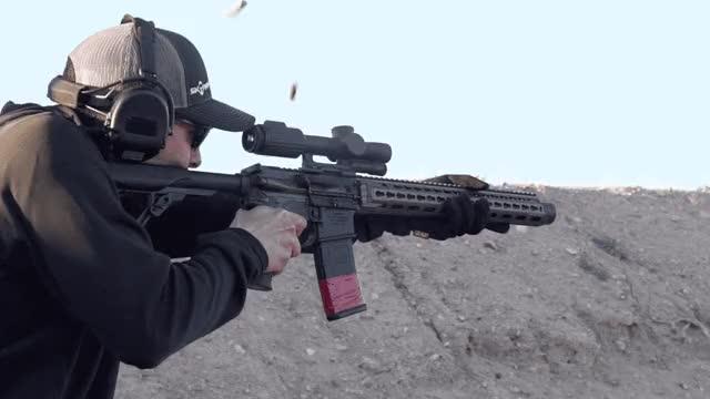 Watch and share Daniel Defense ISR 300BLK - Full Auto GIFs on Gfycat