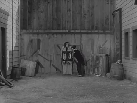 One of Buster Keaton's most baffling stunts GIFs