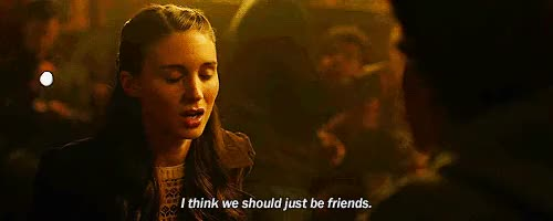 Watch and share Rooney Mara GIFs and Friend GIFs on Gfycat