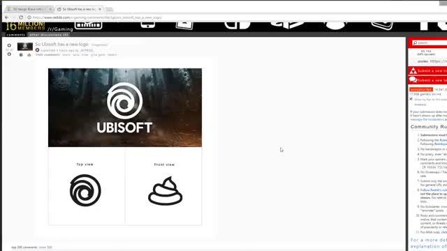 New Ubisoft 3D model