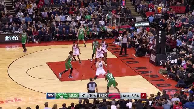Watch and share Toronto Raptors GIFs and Boston Celtics GIFs by louiszatzman on Gfycat