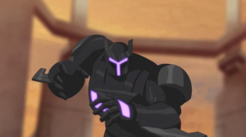 respectthreads, Respect Black Knight (Generator Rex) (reddit) GIFs