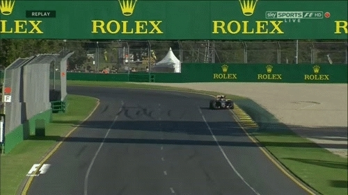 formula1gifs, Carlos Sainz jr. drops a wheel onto the grass. - Australia 2015. (reddit) GIFs