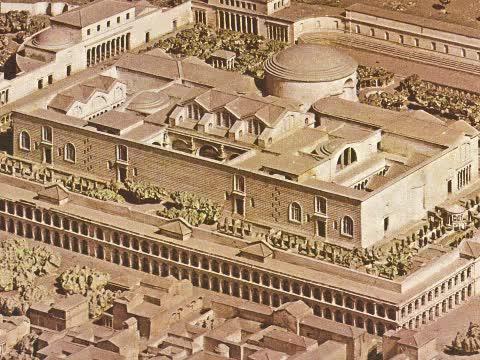 Watch and share Baths Caracalla Aerial GIFs on Gfycat