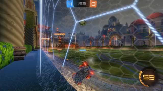 Watch Goal 5: Akai GIF by Gif Your Game (@gifyourgame) on Gfycat. Discover more Akai, Gif Your Game, GifYourGame, Goal, Rocket League, RocketLeague GIFs on Gfycat