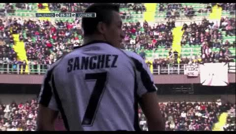 Watch Alexis Sanchez. Palermo - Udinese. 27.02.2011 GIF by @fatalali on Gfycat. Discover more related GIFs on Gfycat