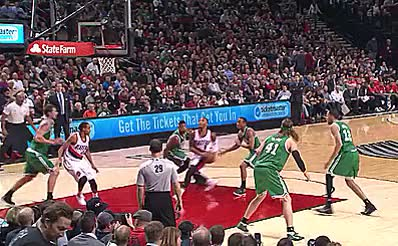 Watch and share Awesome Nba Moments GIFs and Damian Lillard GIFs on Gfycat