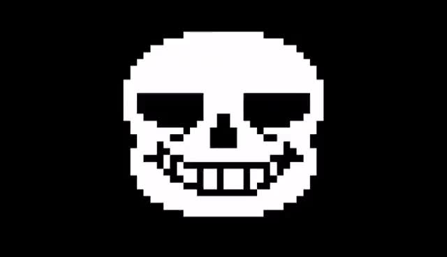 Watch and share Sans' Eye Gif - IMPROVED GIFs on Gfycat
