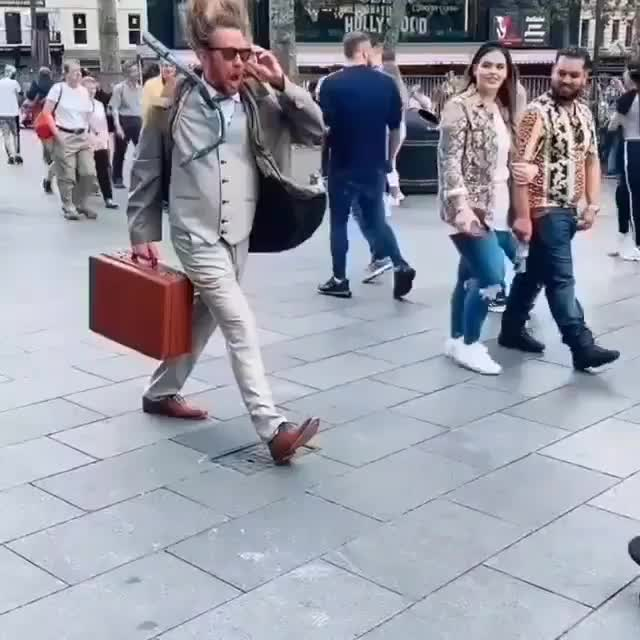Watch and share Awesome Street Performance Art GIFs by tothetenthpower on Gfycat
