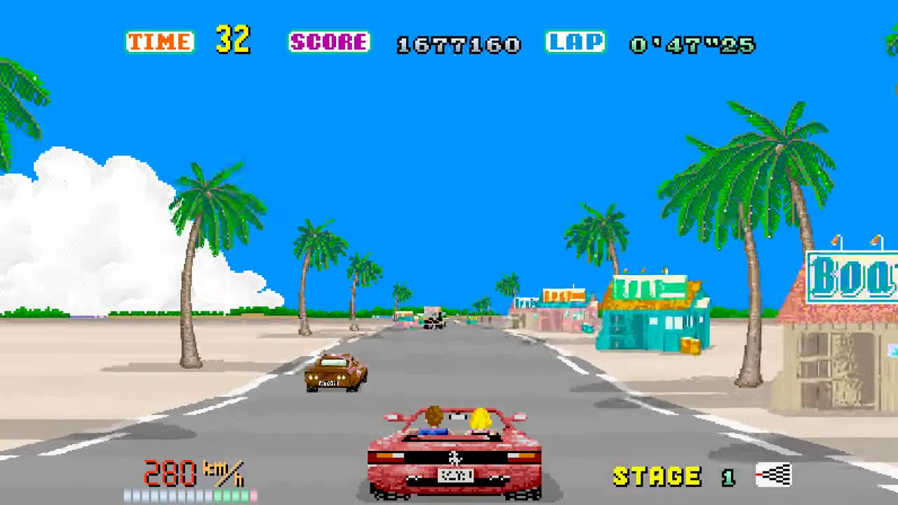 OutRun Stage 1 GIFs