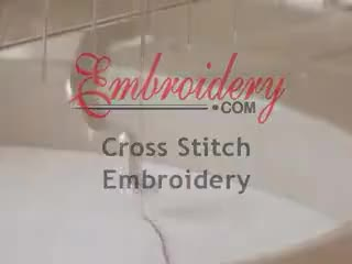 Watch and share Simulated Hand Cross-Stitch On Your Embroidery Machine GIFs on Gfycat