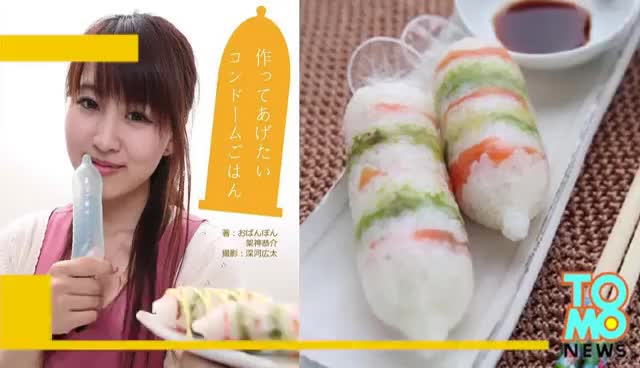 Watch Creative Japanese cooking: Condom Cookbook launched to promote safe sex GIF on Gfycat. Discover more related GIFs on Gfycat