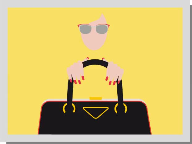 Watch prada sunglasses and bag GIF on Gfycat. Discover more related GIFs on Gfycat