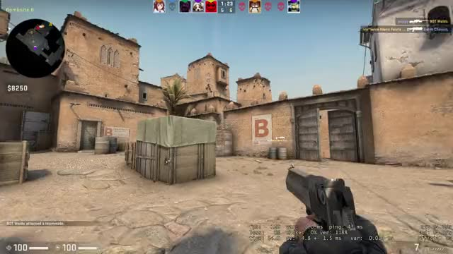 Watch and share Questionable 1v4 Clutch GIFs by Medal.tv: Clip Your Game  on Gfycat